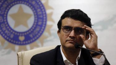 BCCI president Sourav Ganguly.