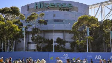 Hisense Arena.
