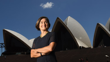 Sydney Opera House CEO Louise Herron has been ordered to project racing advertising on the building's sails.