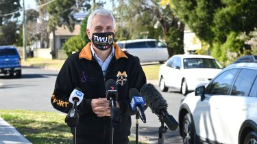 Transport Workers Union boss Michael Kaine claims StarTrack undercounted the number of personnel on strike.