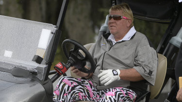 Dispensation: John Daly will be permitted to use a cart in the PGA Championship later this month.