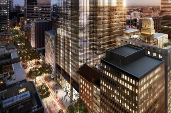The $2 billion Brookfield Place in Sydney is the new home for NAB