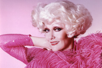 Showgirl: Jeanne Little died earlier this month.