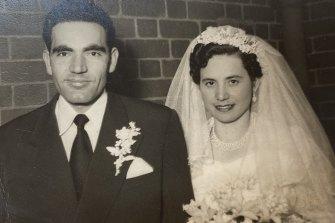 Jack married Magdalini onSeptember 25 in 1955.