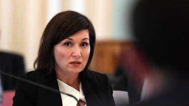 Environment Minister Leeanne Enoch.
