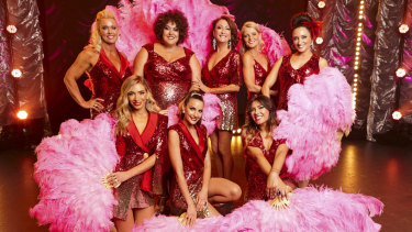 Famous Australian females stripped off for a good cause on Seven's The All New Monty: Ladies Night.