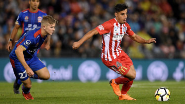 Daniel Arzani has impressed for City.