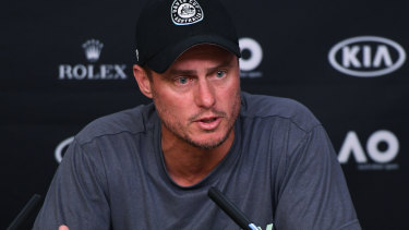 Determined: Lleyton Hewitt is ambivalent about the new Davis Cup format but has vowed to take it seriously.