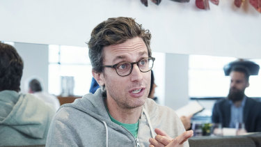 BuzzFeed chief executive Jonah Peretti.