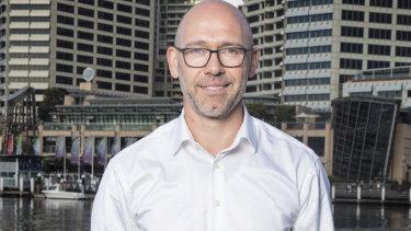 MYOB chief executive Tim Reed.
