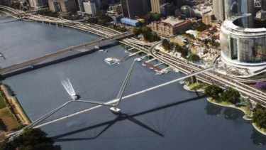 Brisbane City Council wants the proposed Neville Bonner Bridge from the new casino and hotel complex to South Bank near the Wheel of Brisbane scrapped.