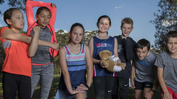 City2Surf: Eden, 11, inspires classmates to run