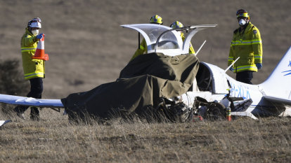 'It happened in a heartbeat': Man killed in NSW light plane crash