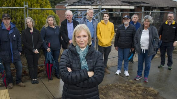 The half-demolished home causing controversy in Kambah