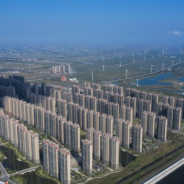 China's reluctance to bail out Evergrande sends a warning signal to the country's over-leveraged construction sector.