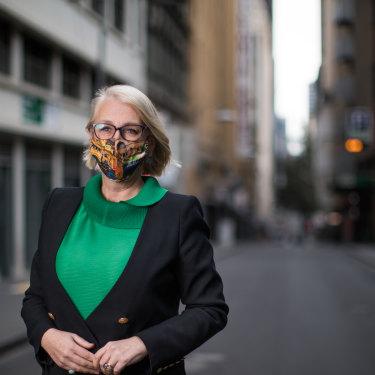 Maire de Melbourne, Sally Capp.