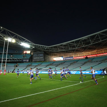 ANZ Stadium's major refurbishment has been scrapped in favour of suburban ground funding.