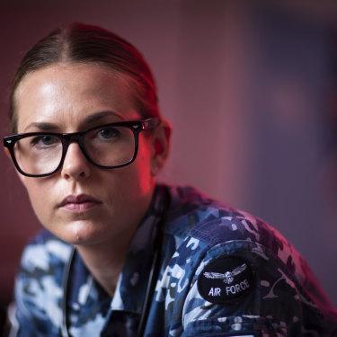 Corporal Hollie Cartwright is a medic at RAAF Base Amberley near Brisbane.