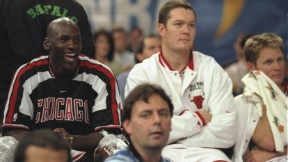 Luc Longley's call to Michael Jordan for Australian Story