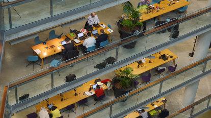 NAB staffer at Docklands office tests positive
