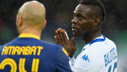 Brescia axe Balotelli for missing training after reported row
