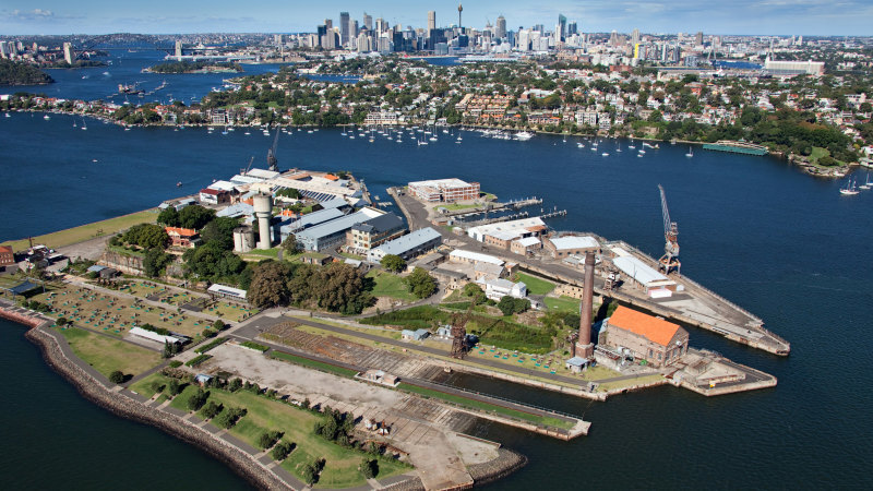 'Missed opportunity for Sydney': secret plans for Cockatoo Island
