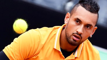 Individual: Nick Kyrgios is unapologetic about his character.