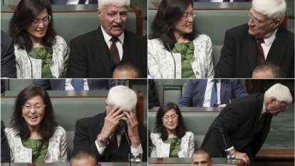 'Nearly died of shock': Katter says Gladys Liu needs to explain China links after awkward moment