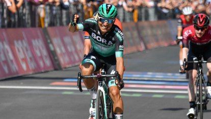Benedetti claims rare stage win, as Polanc takes Giro lead