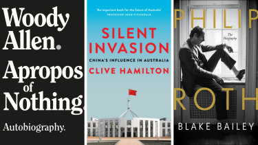 Three books with three highly publicised battles to get them published.