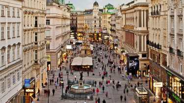 Vienna may be very different to Brisbane, but its congestion levels are similar.