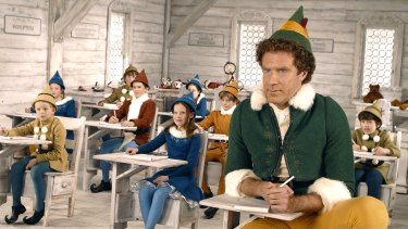 Elf, starring Will Ferrell, is screening on Christmas Eve at at Mov'in Boat cinema.