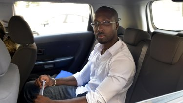 Rudy Guede, the only person convicted of the murder, leaves prison in 2016 for a 36-hour release at a volunteer centre.