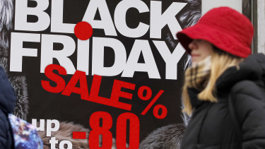 Black Friday shopping ... the US phenomenon reaches Australia online.