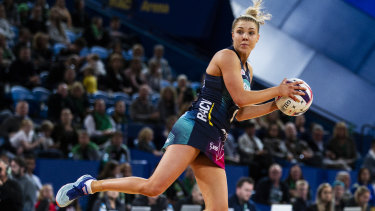 The Vixens' Kate Moloney is growing as team leader.