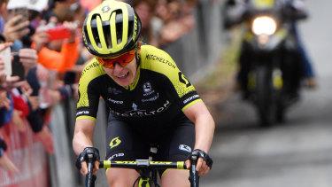 Amanda Spratt will target the road race in Tokyo.