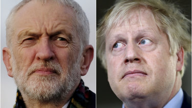 Both Labour leader Jeremy Corbyn and Prime Minister Boris Johnson are personally unpopular with voters.
