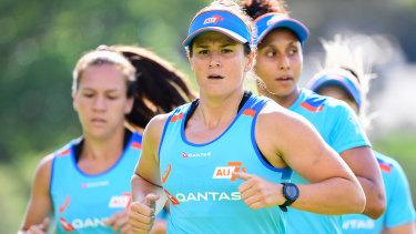 Australia's women's sevens star Shannon Parry.