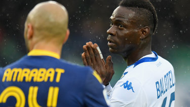 Mario Balotelli is set to pay a heavy price for missing training.