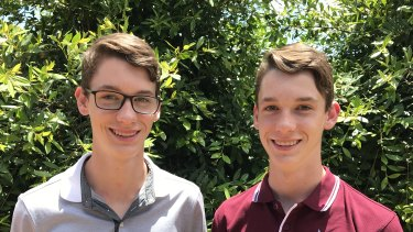 Blake Reinbott received the offer to study a bachelor of physiotherapy (honours) and Grant received an offer for a doctor of medicine (MD) (provisional entry for school leavers) course.