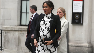 Meghan, Duchess of Sussex has shown plenty of flair in her maternity style.