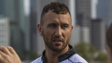 Club land: Quade Cooper is playing in Brisbane club rugby, despite being paid $800,000 a year by the Queensland Reds and Rugby Australia.