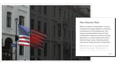 Google's latest tool to help journalists spot fake images