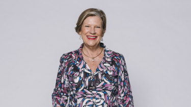 """Ann Sherry: """"'Chairman' isn't specifically gendered – that's not its genesis – but I did make a deliberate choice to say it; it's like 'CEO'. To call myself something different to the name men call themselves would feel like conceding."""""""
