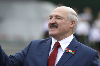 Belarus President Alexander Lukashenko has a history of blaming difficulties on foreign meddling.