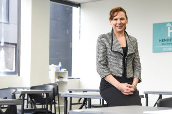 Hendersons executive director Annette Paroissien says her tutoring firm will offer grants to Aboriginal and Torres Strait Islander students studying for the select-entry school entrance exam.