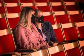 First time opera-goers Mel Wasson and Simone Moncrieff were invited to a dress rehearsal of The Merry Widow.