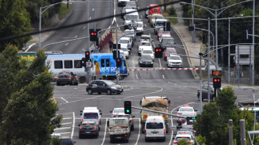 Toorak Road rail crossing is set to be removed.