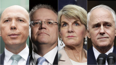 The contenders and the incumbent in the Liberal leadership fight.