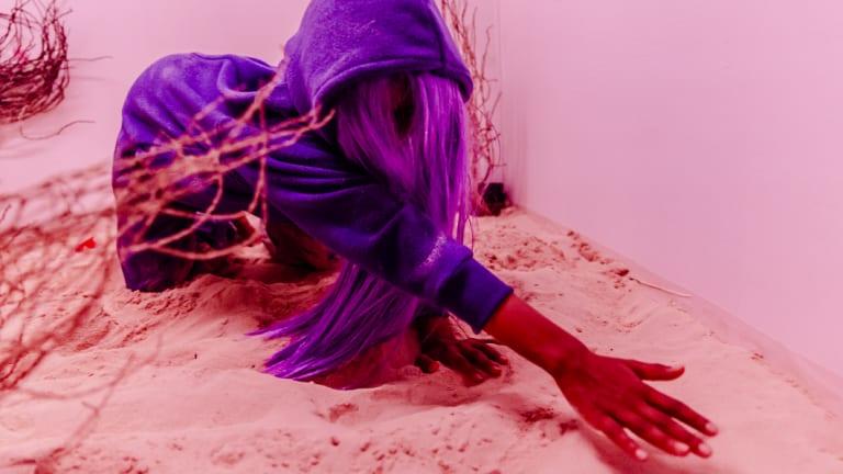 Ashanti Joy in Lone by The Rabble.
